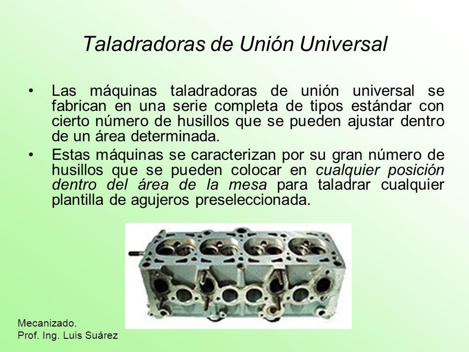 Taladradoras de Unión Universal