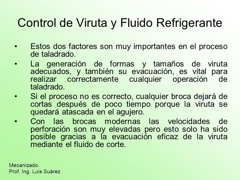 Control de Viruta y Fluido Refrigerante