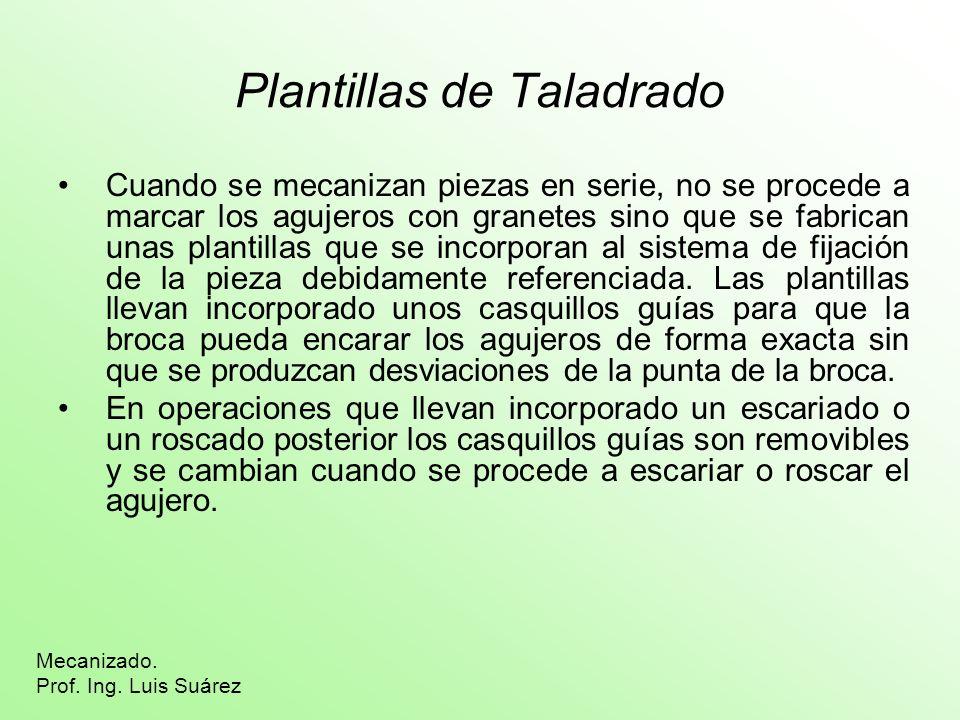 Plantillas de Taladrado