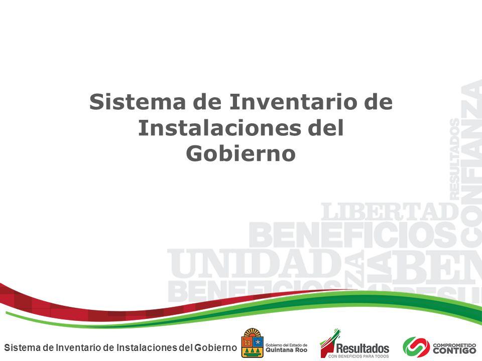 Sistema de Inventario de Instalaciones del Gobierno