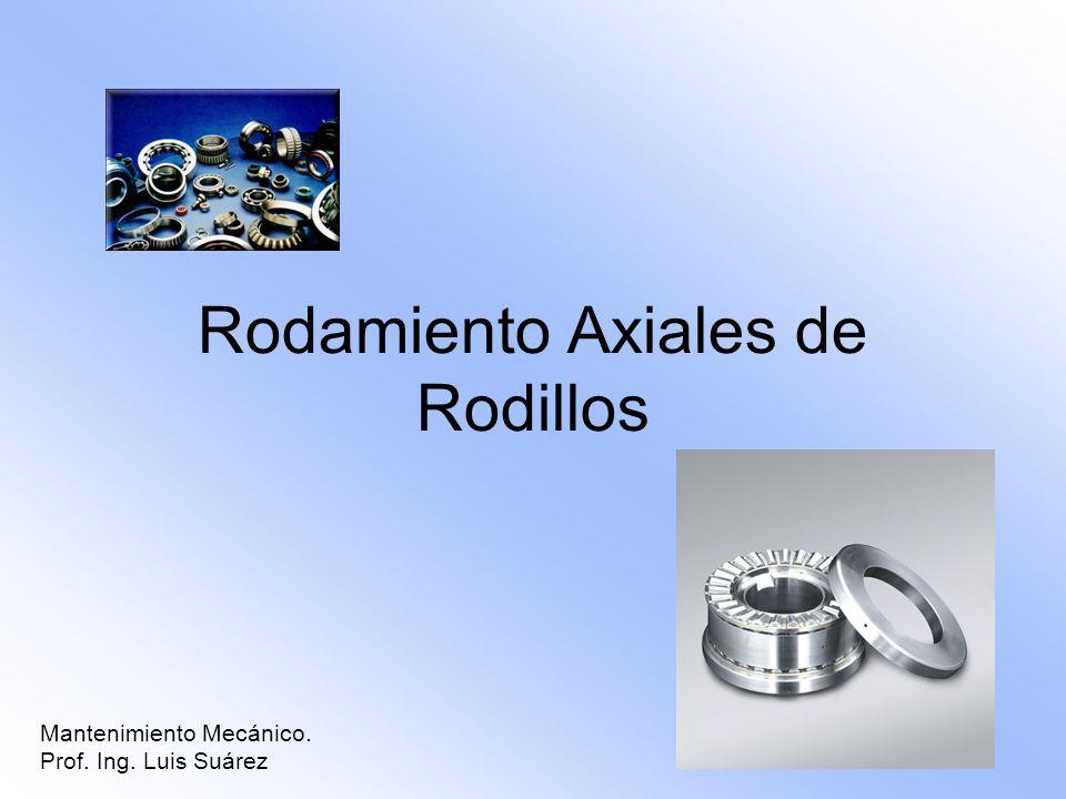 Rodamiento Axiales de Rodillos