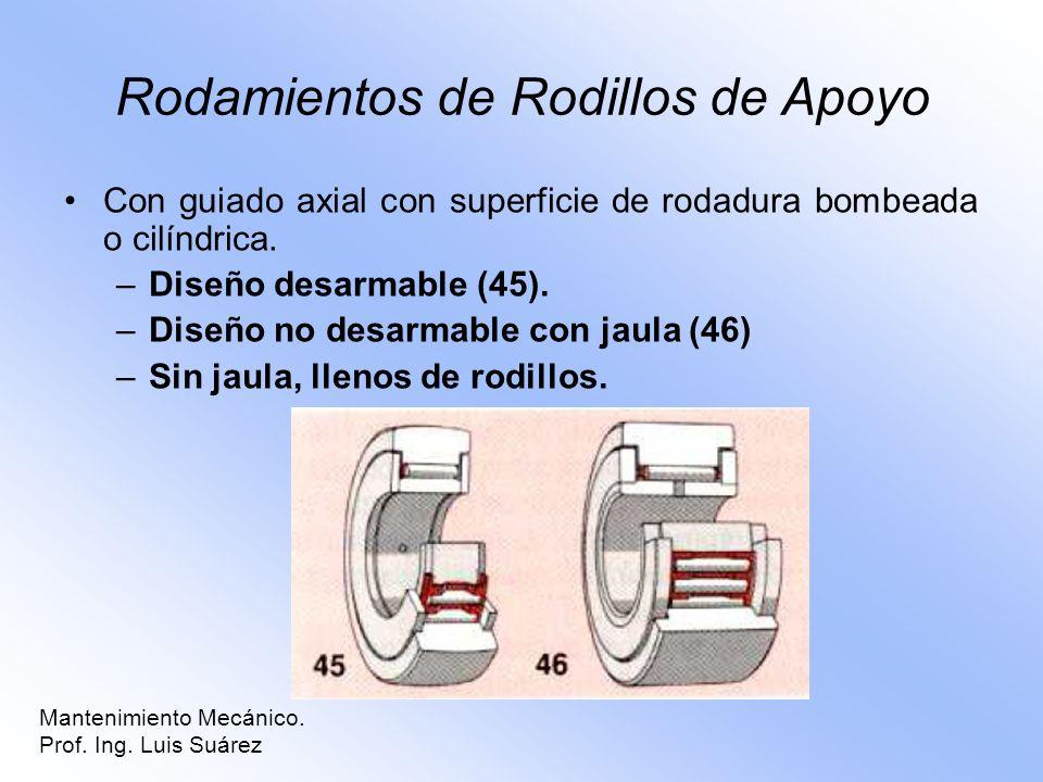 Rodamientos de Rodillos de Apoyo