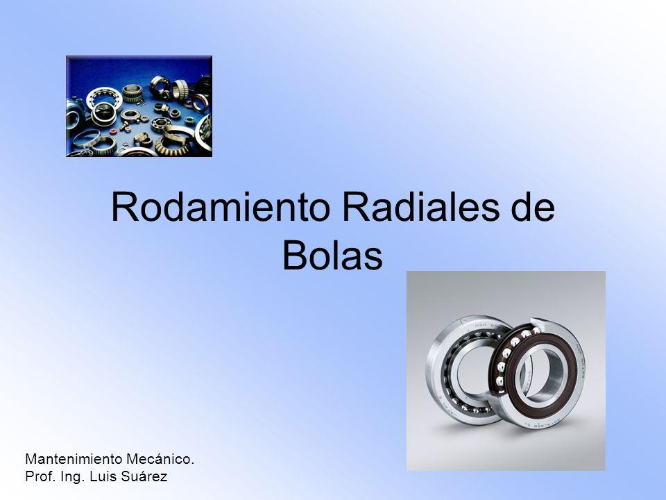 Rodamiento Radiales de Bolas