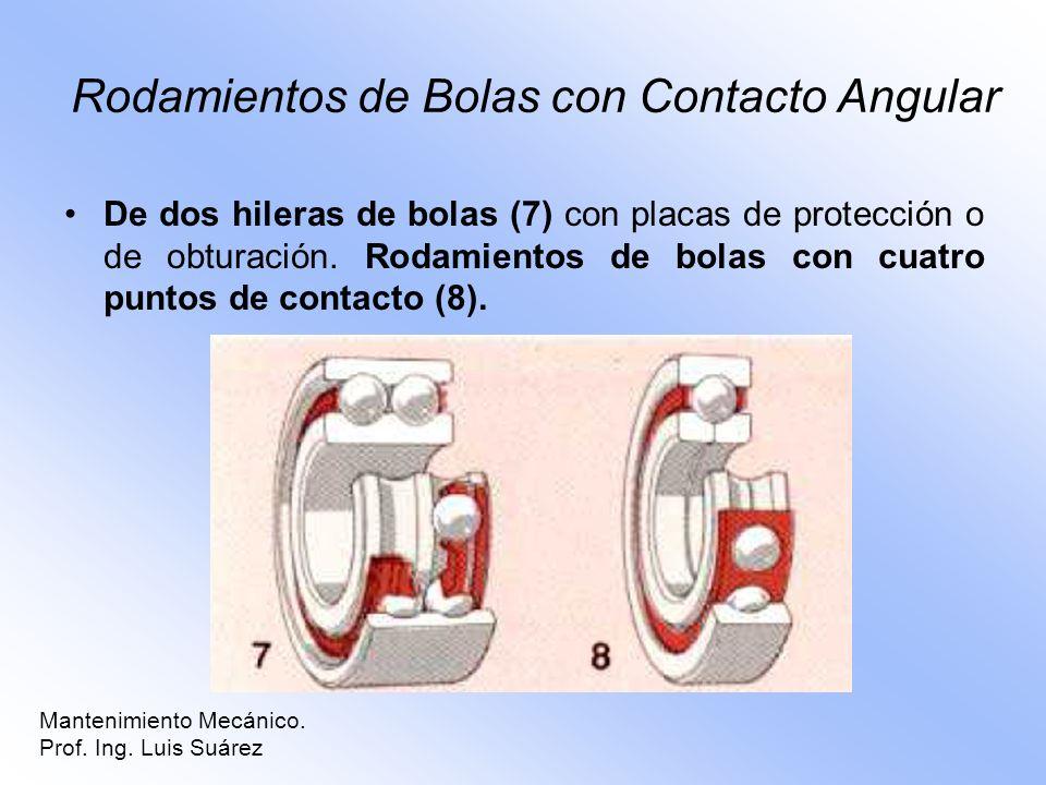 Rodamientos de Bolas con Contacto Angular