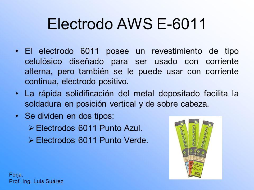 Electrodo AWS E-6011