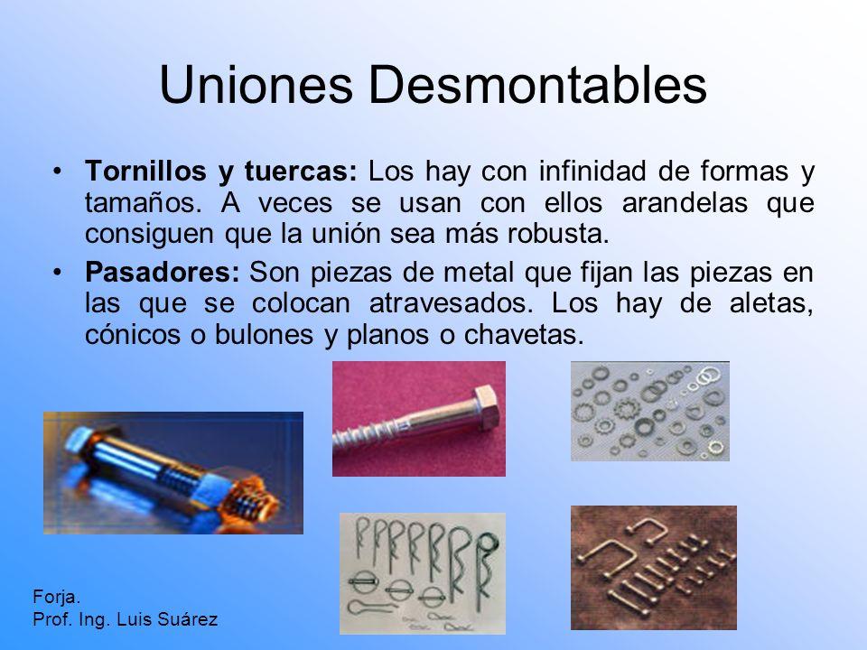 Uniones Desmontables