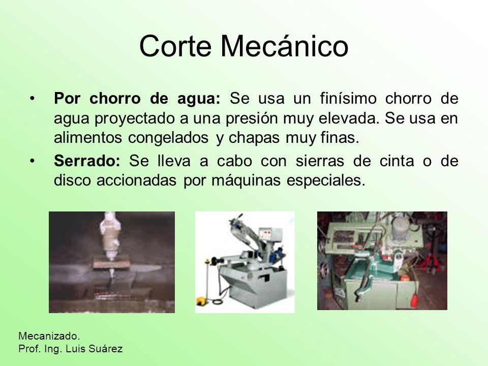 Corte Mecánico