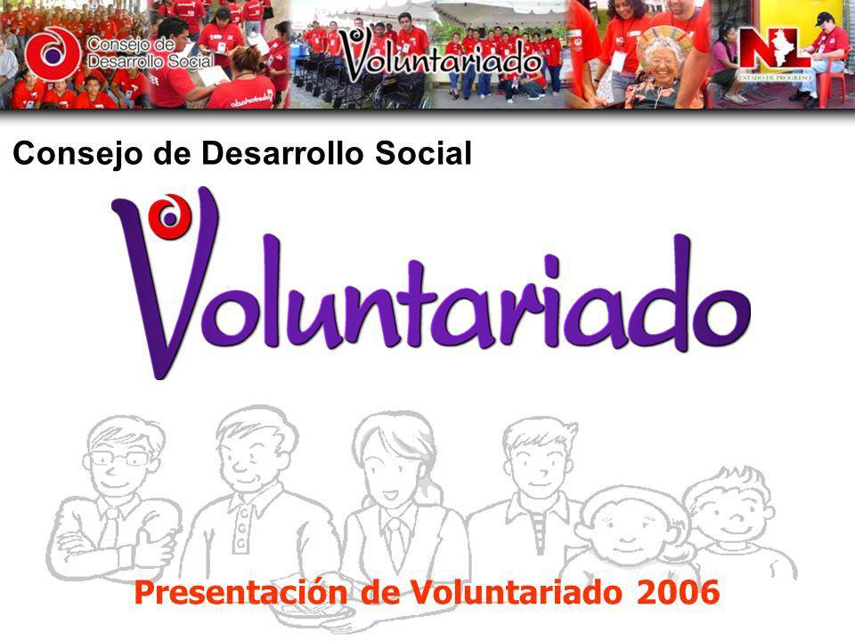 Presentación de Voluntariado 2006