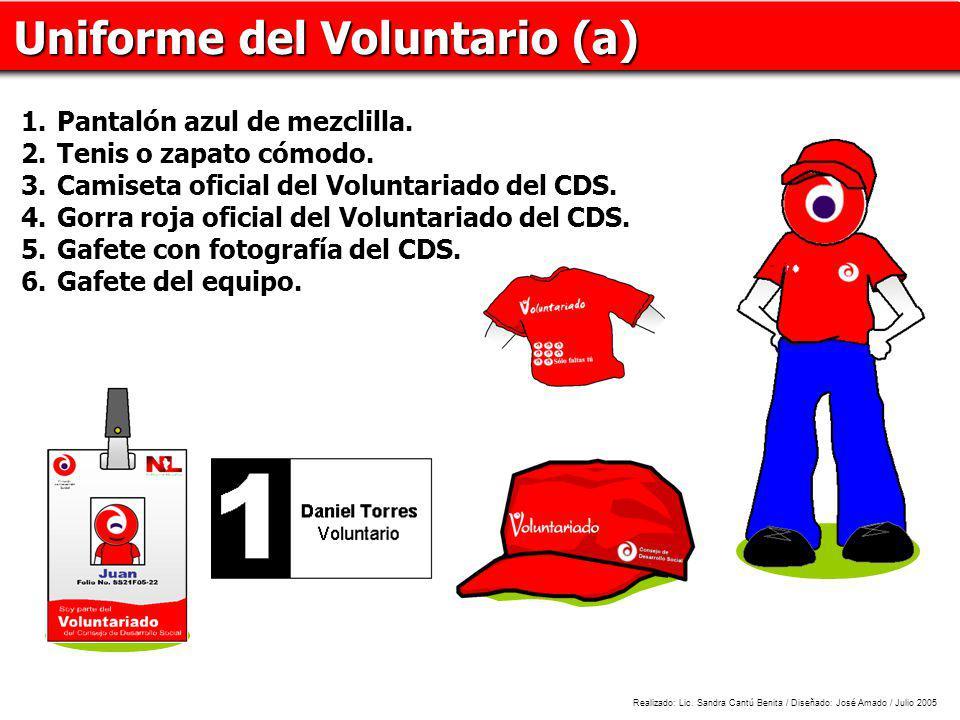 Uniforme del Voluntario (a)