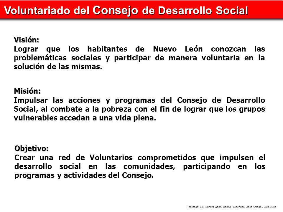 Voluntariado del Consejo de Desarrollo Social