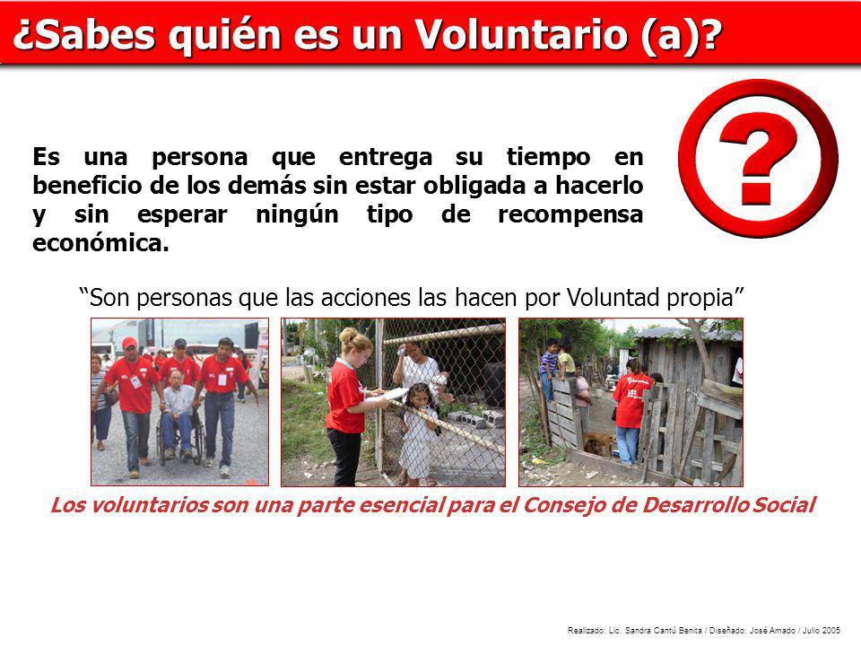 ¿Sabes quién es un Voluntario (a)