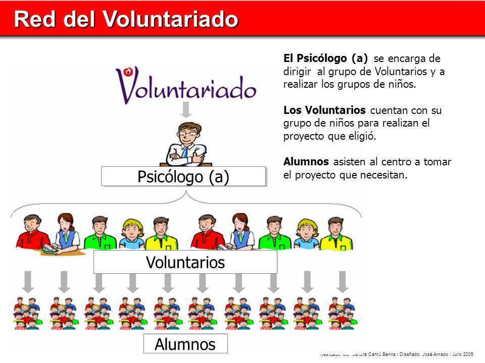 Red del Voluntariado Psicólogo (a) Voluntarios Alumnos