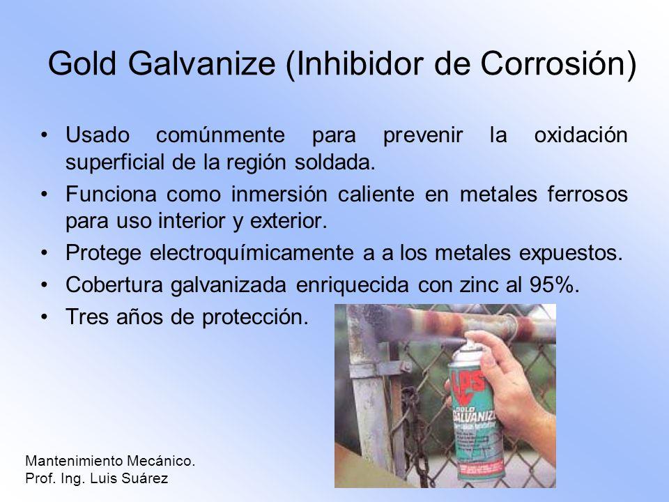 Gold Galvanize (Inhibidor de Corrosión)