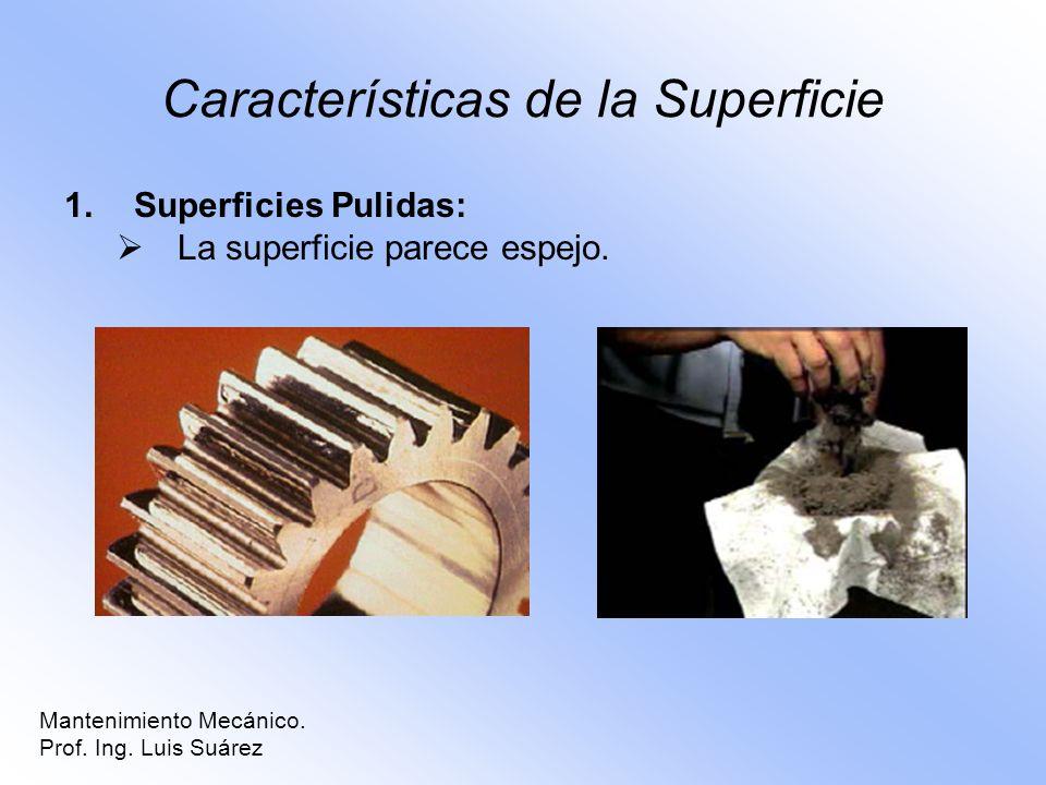 Características de la Superficie