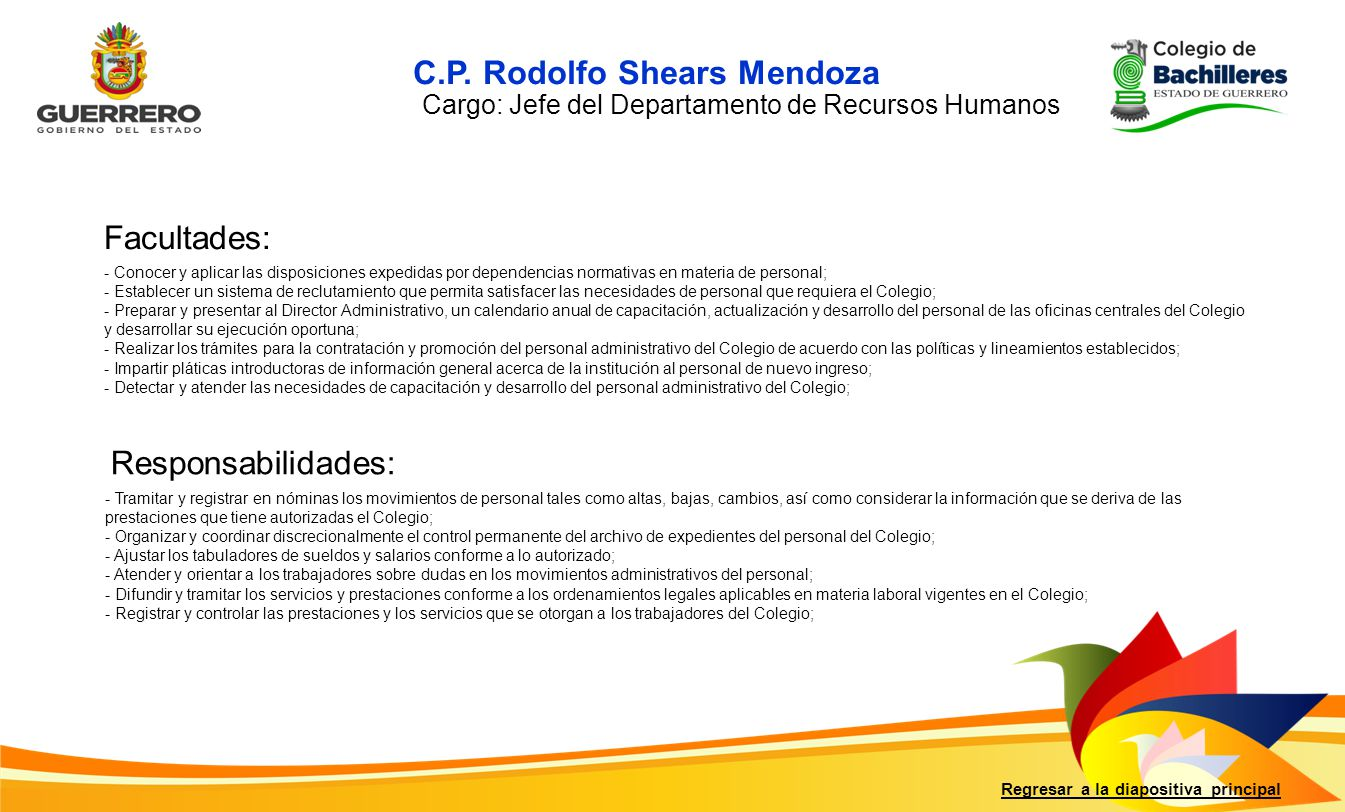 C.P. Rodolfo Shears Mendoza