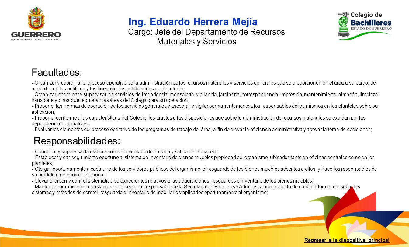 Ing. Eduardo Herrera Mejía