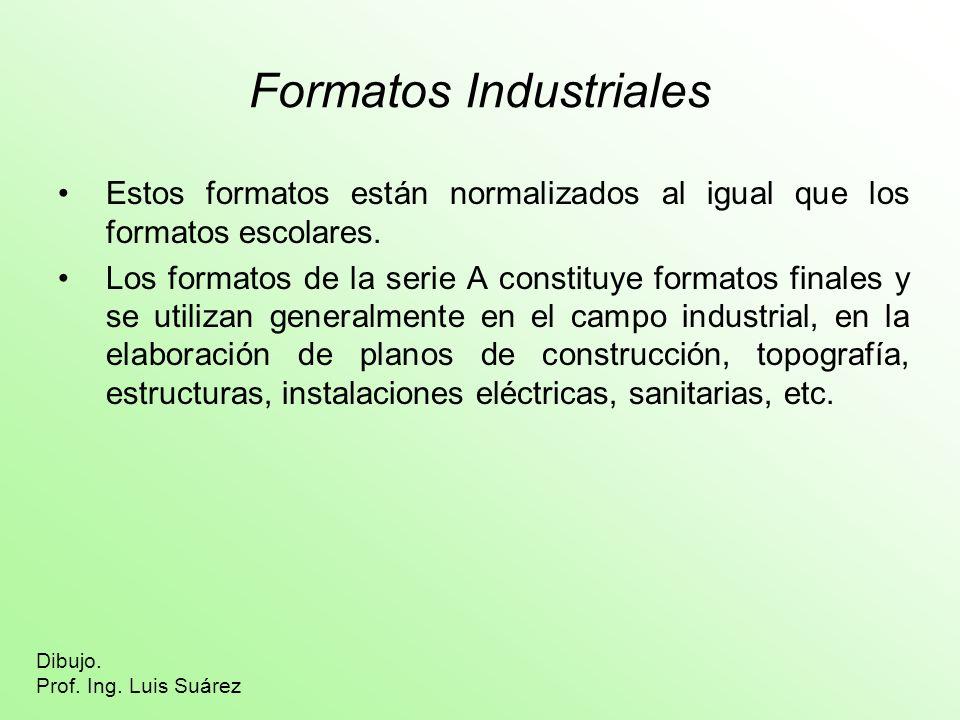 Formatos Industriales