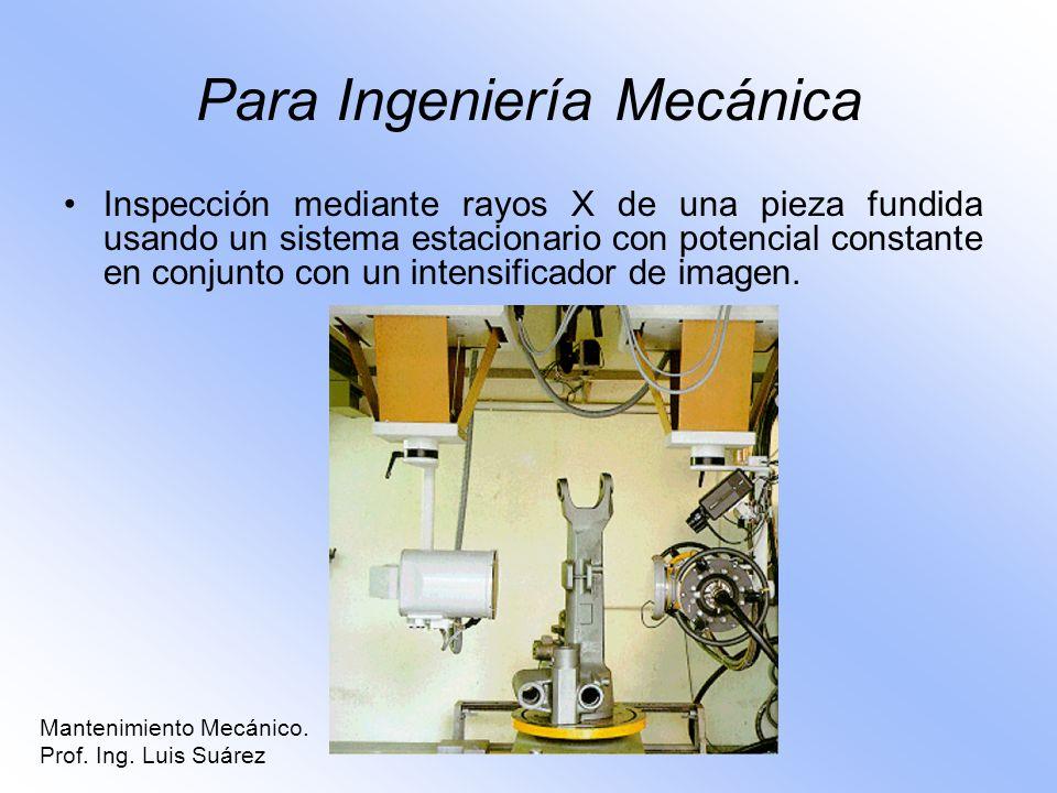 Para Ingeniería Mecánica