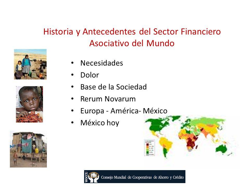 Historia y Antecedentes del Sector Financiero Asociativo del Mundo