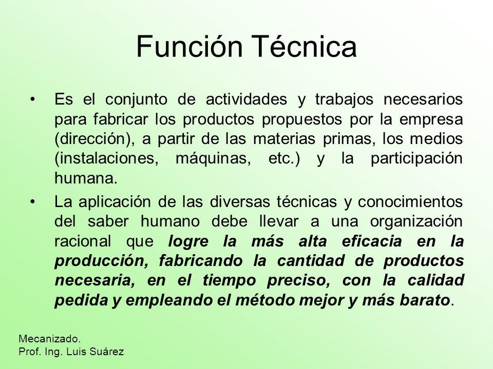 Función Técnica