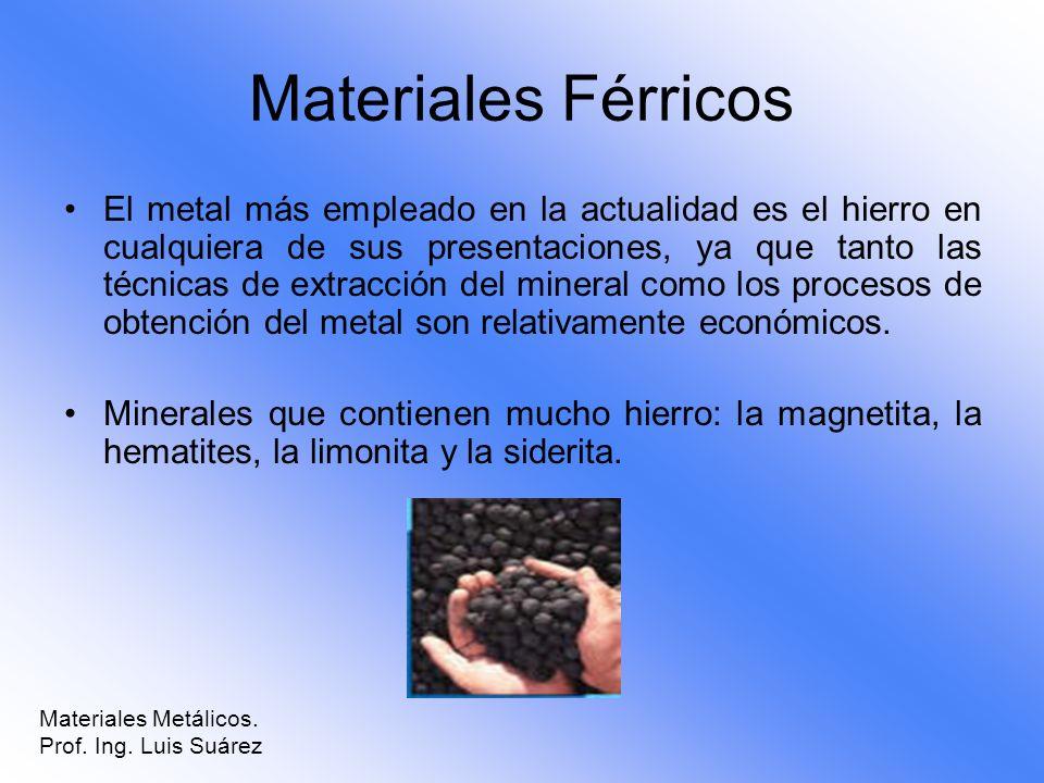 Materiales Férricos