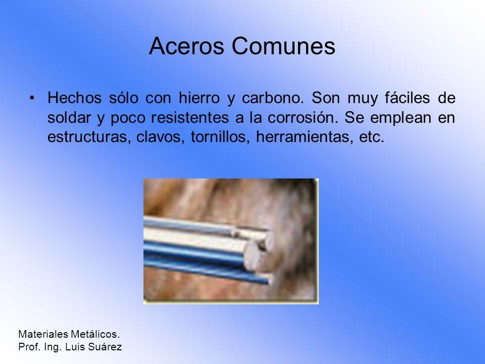Aceros Comunes