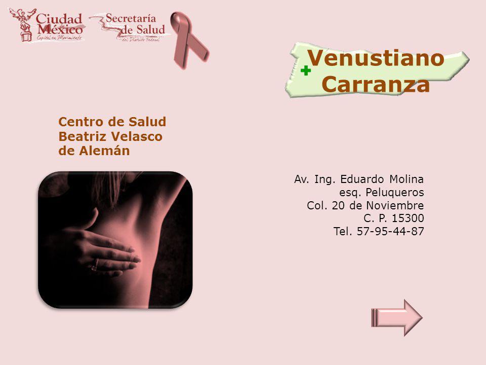 Venustiano Carranza Centro de Salud Beatriz Velasco de Alemán