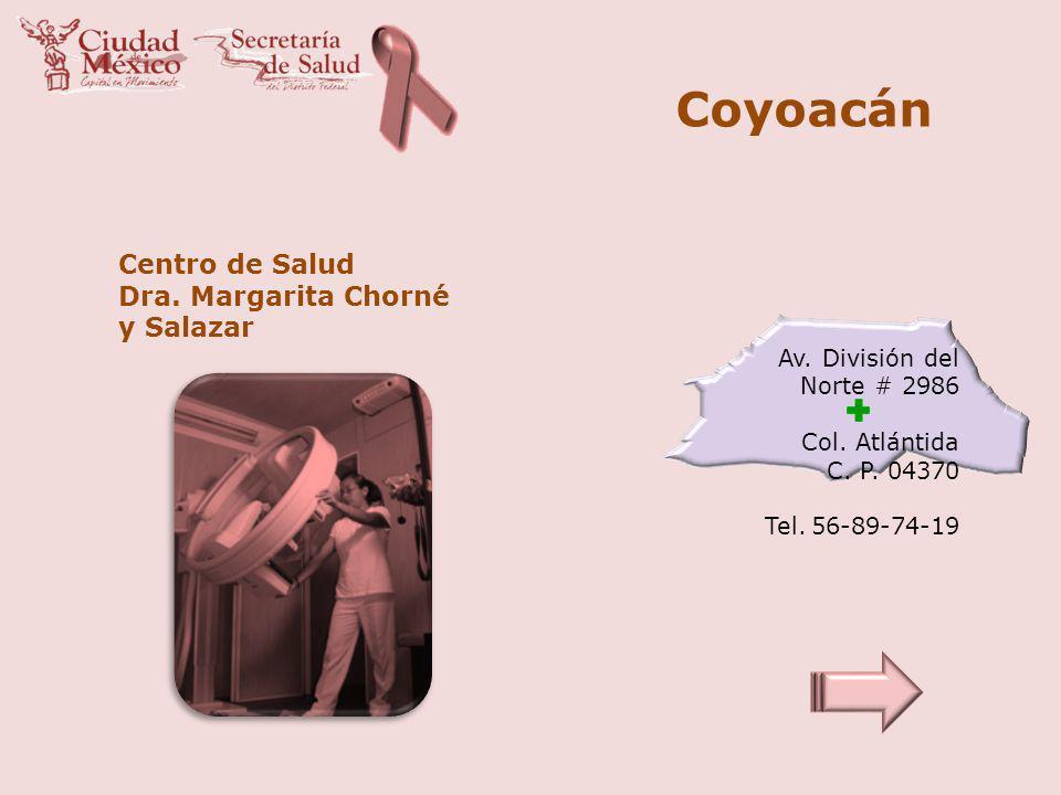 Coyoacán Centro de Salud Dra. Margarita Chorné y Salazar
