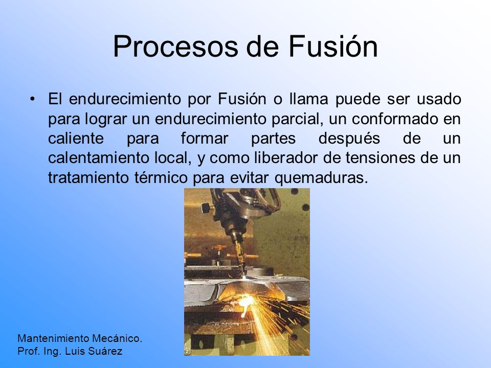 Procesos de Fusión