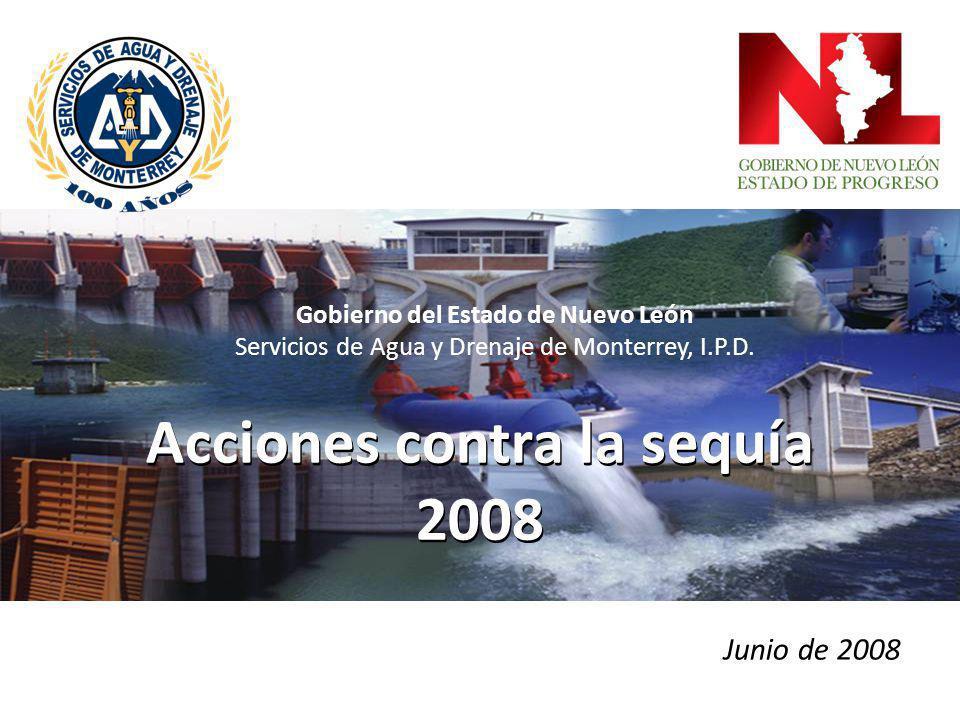 Acciones contra la sequía 2008