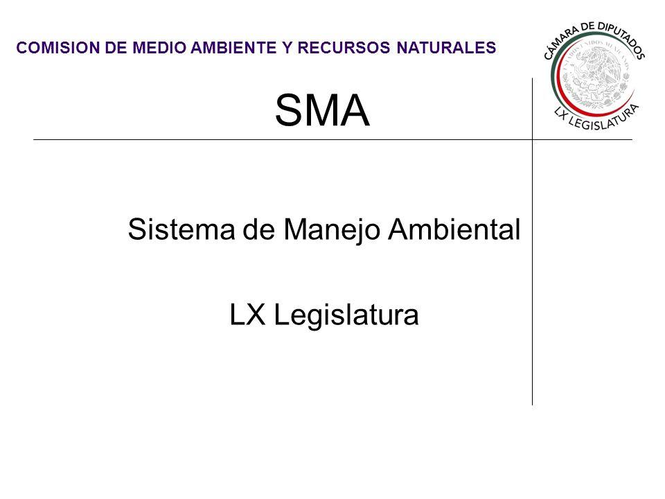 Sistema de Manejo Ambiental LX Legislatura