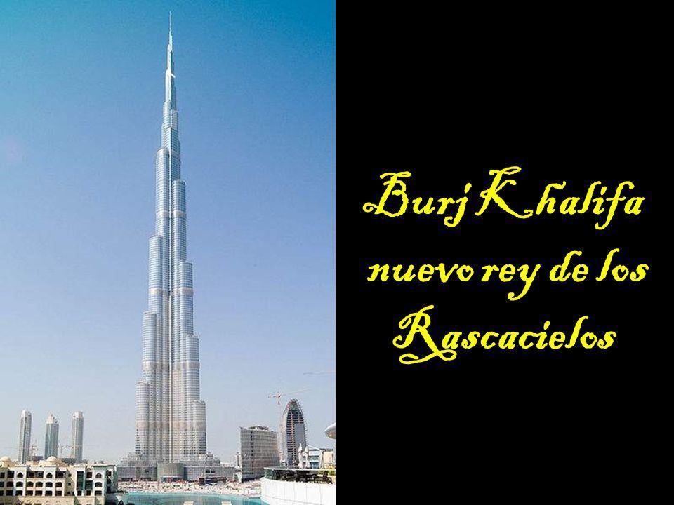 nuevo rey de los Rascacielos