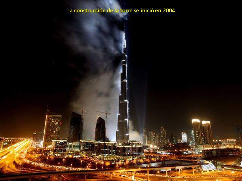 La construcción de la torre se inició en 2004