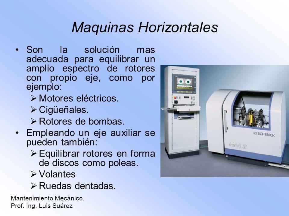 Maquinas Horizontales