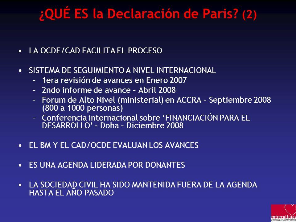 ¿QUÉ ES la Declaración de Paris (2)