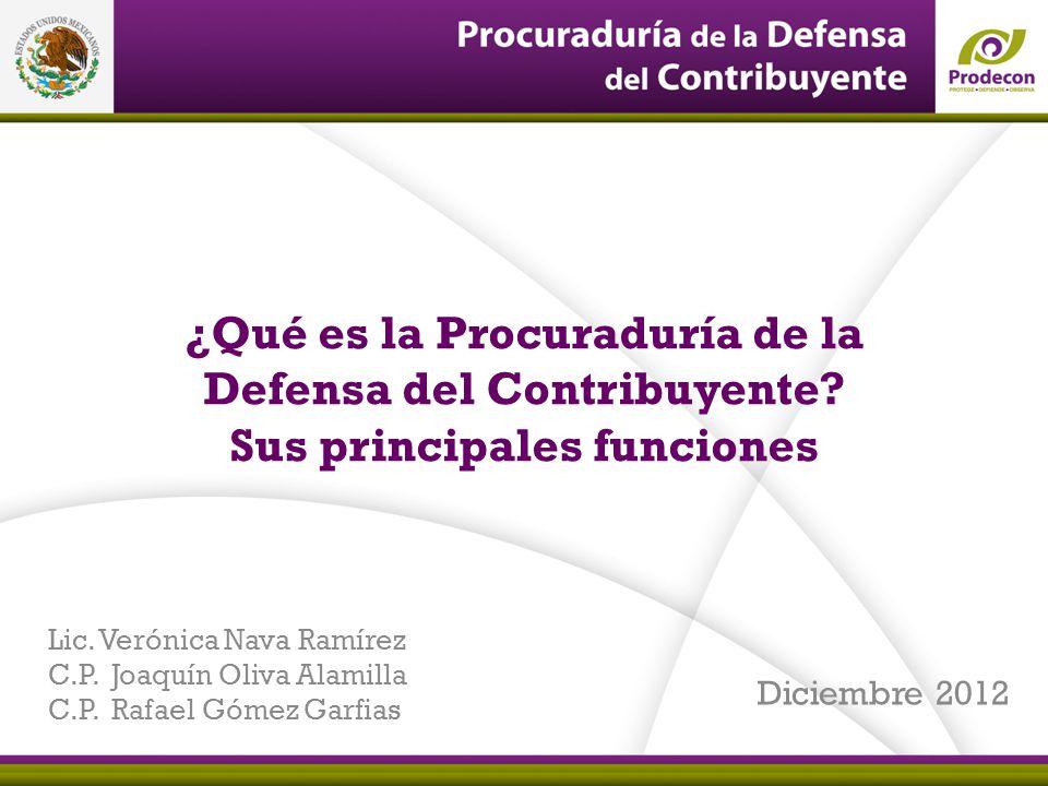 ¿Qué es la Procuraduría de la Defensa del Contribuyente