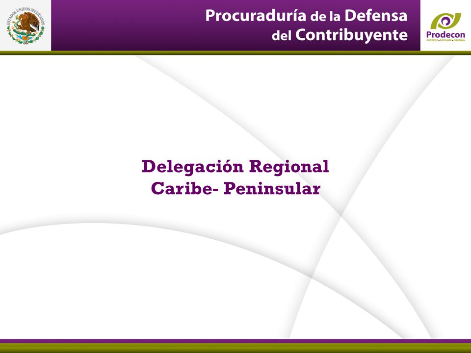 Delegación Regional Caribe- Peninsular