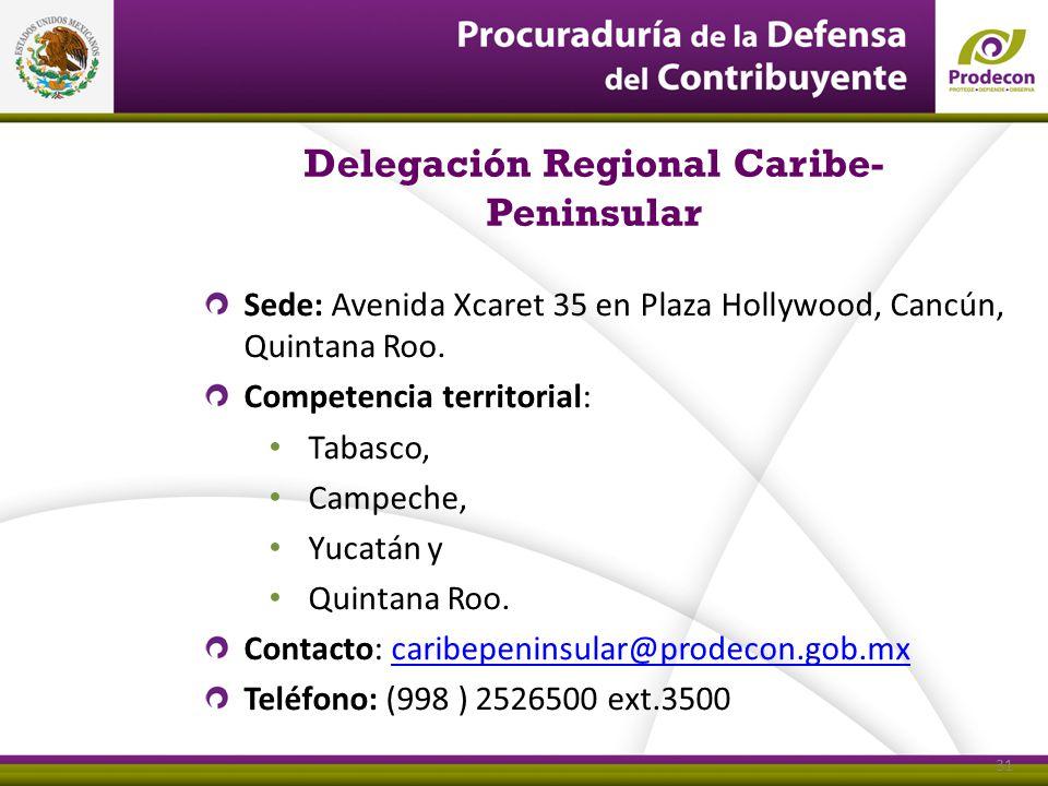 Delegación Regional Caribe-Peninsular