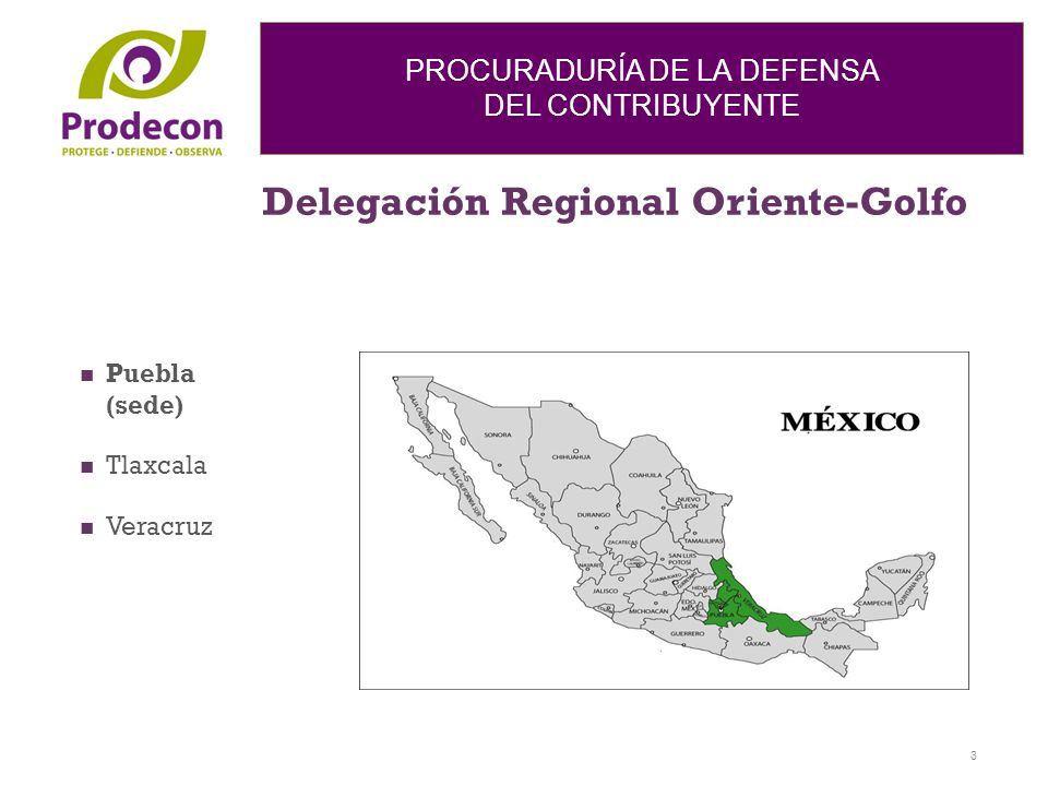 Delegación Regional Oriente-Golfo
