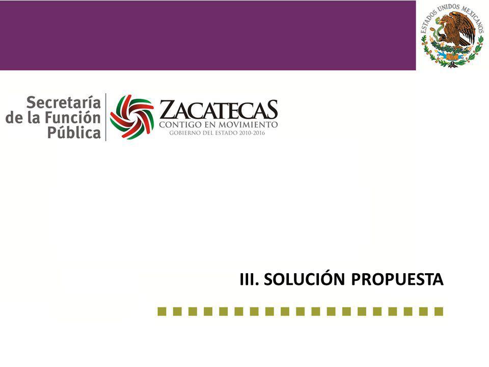 III. solución propuesta