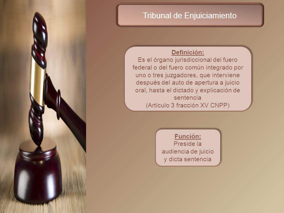 Tribunal de Enjuiciamiento