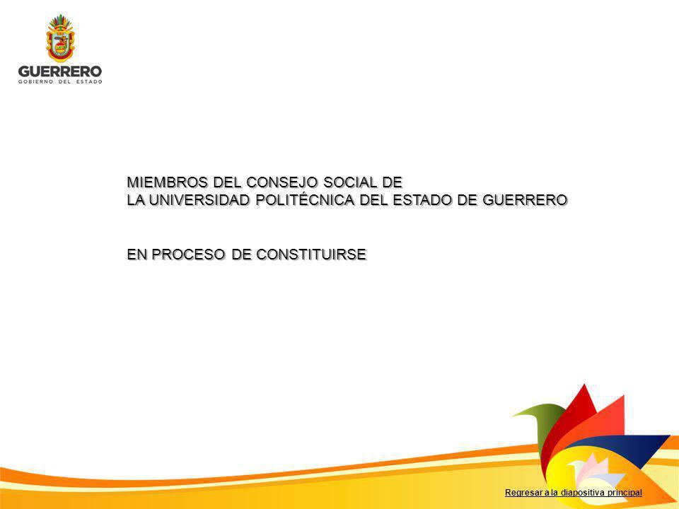 MIEMBROS DEL CONSEJO SOCIAL DE