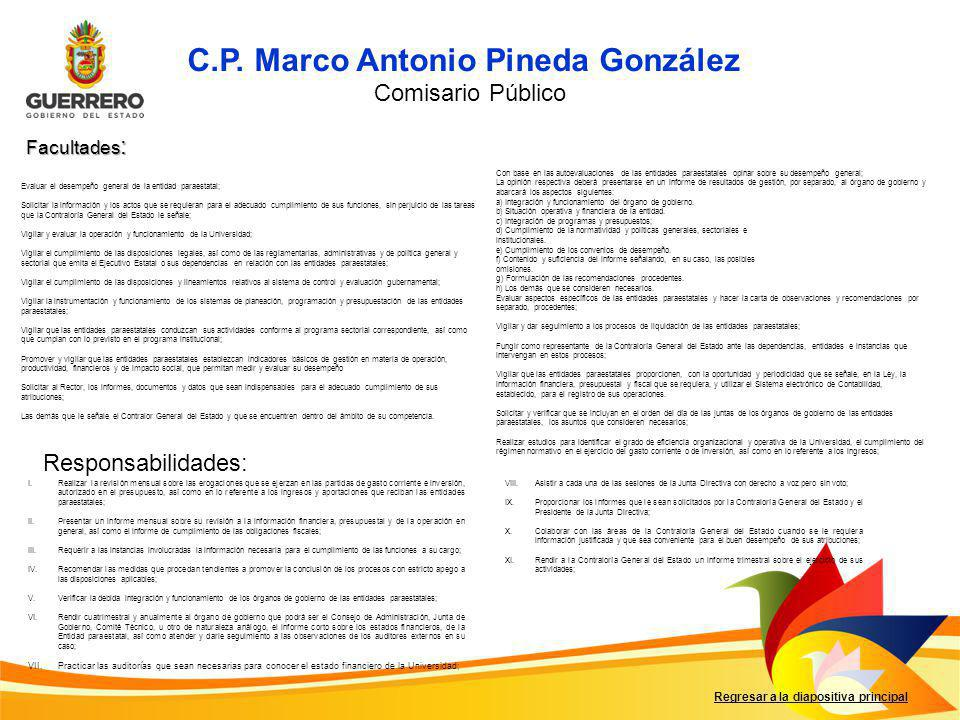 C.P. Marco Antonio Pineda González