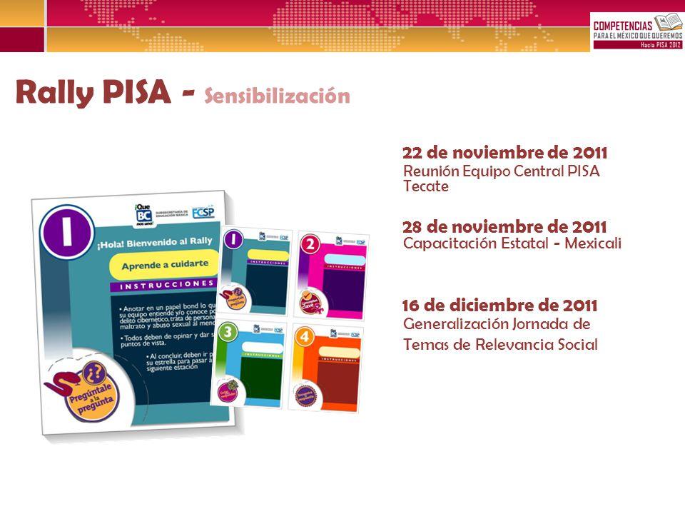 Rally PISA - Sensibilización