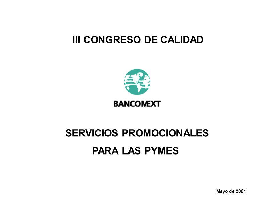 III CONGRESO DE CALIDAD SERVICIOS PROMOCIONALES