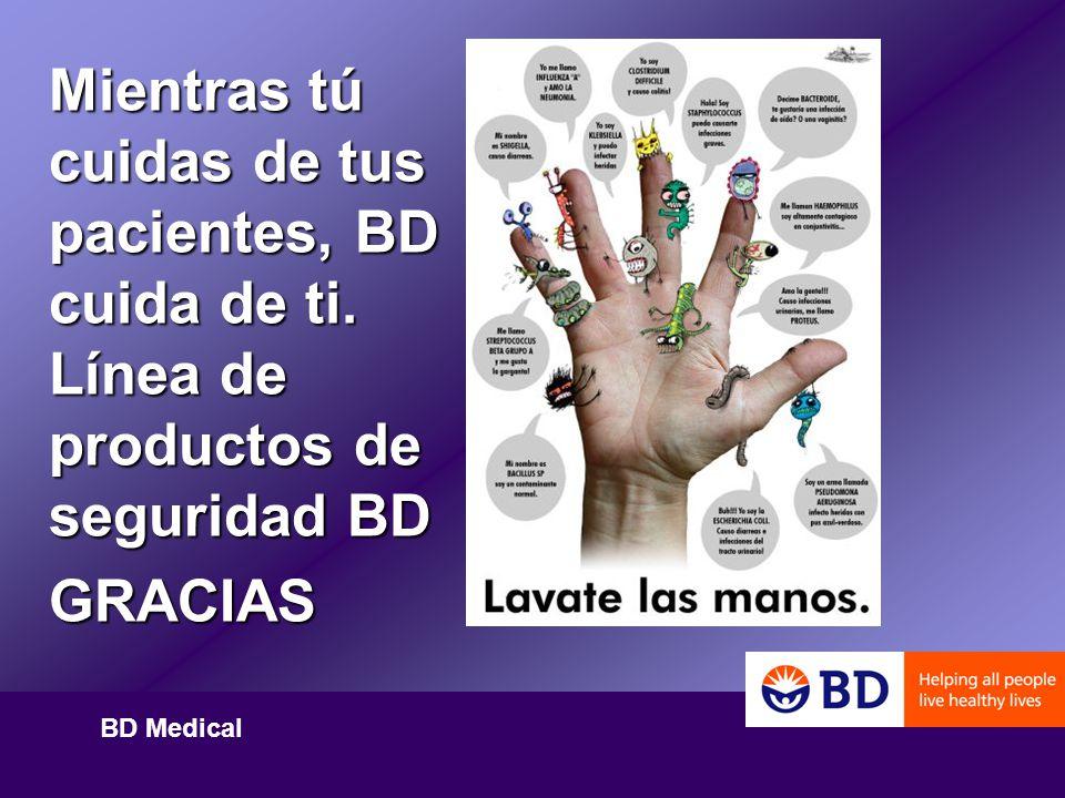 Mientras tú cuidas de tus pacientes, BD cuida de ti