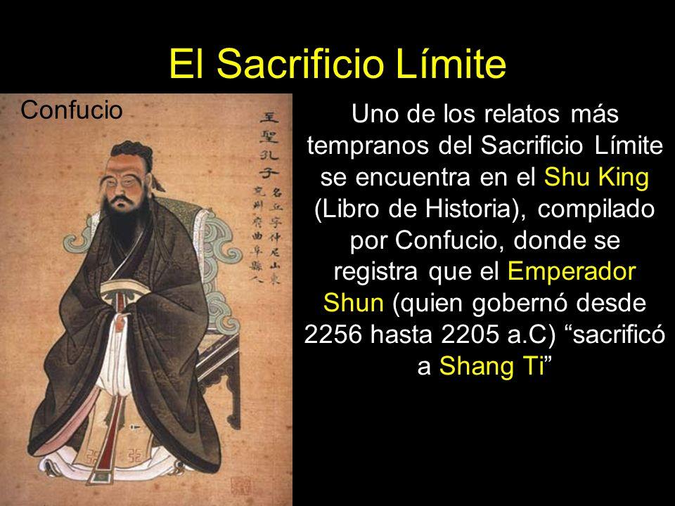 El Sacrificio Límite Confucio