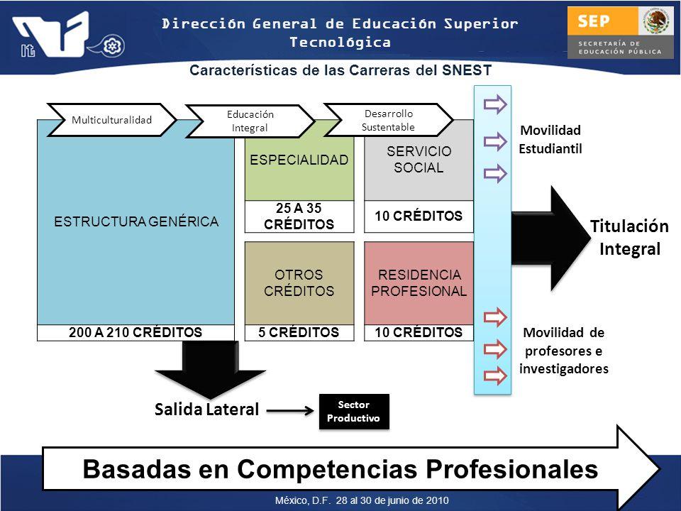 Basadas en Competencias Profesionales