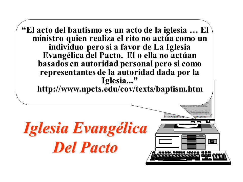 Iglesia Evangélica Del Pacto