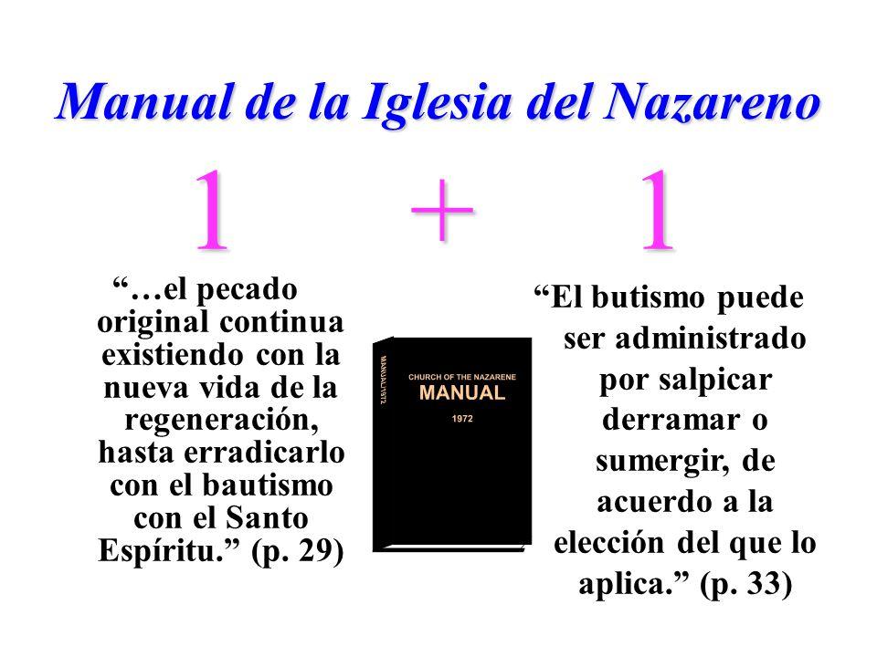 Manual de la Iglesia del Nazareno